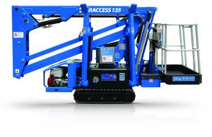 cte traccess 135 tracked spider aerial platform lift cherry picker